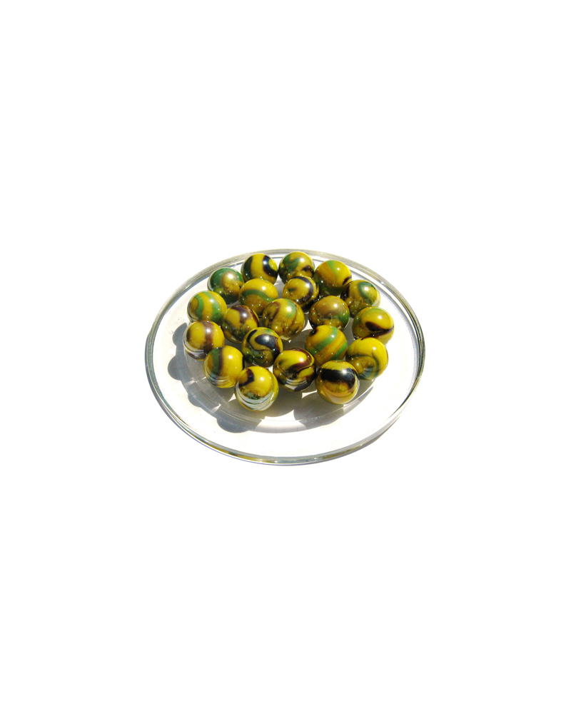 1 Marble Tigre-Bengal 16 mm Glass Marbles