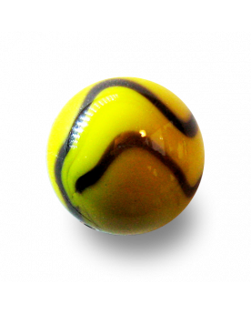 1 Shooter Marble Abeille 25 mm Glass Marbles