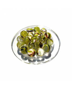 1 Marble Bourdon 16 mm Glass Marbles