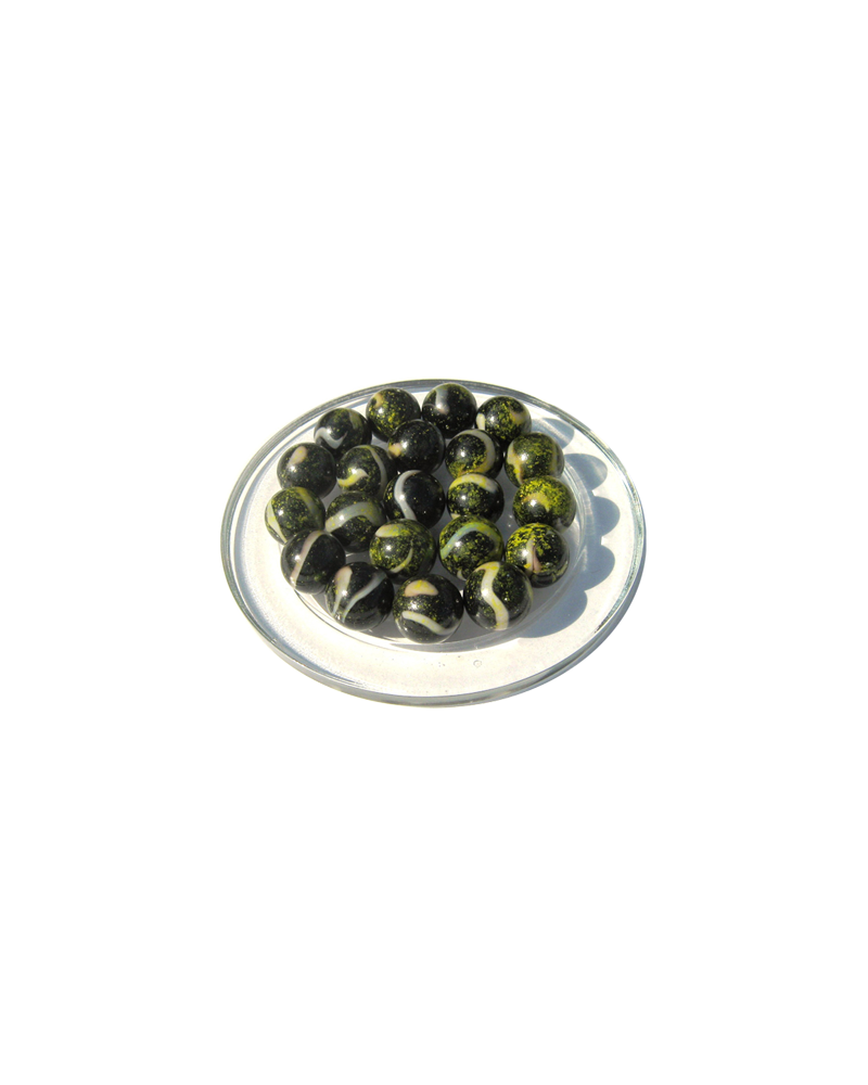 1 Marble Pluton 16 mm Glass Marbles