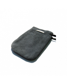 1 Black/Gray Leather Bag - SOLIDAIRE