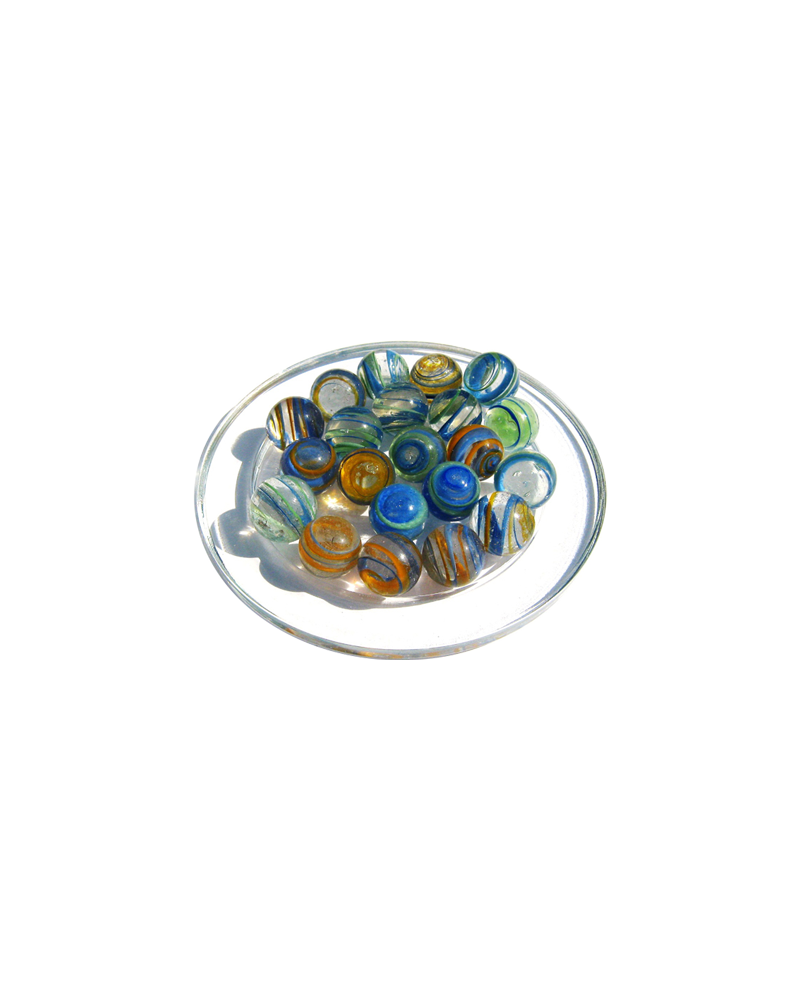 1 Marble Equinoxe 16 mm Glass Marbles