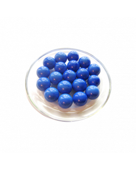 1 Marble Bleu-Perle 16 mm Glass Marbles