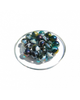 1 Marble Pétrole 16 mm Glass Marbles