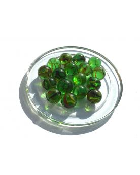 1 Marble Pic-Vert 16 mm Glass Marbles