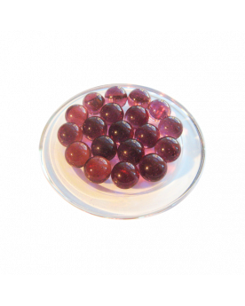 1 Marble Violet-Loupe 16 mm Glass Marbles