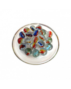 1 Marble Oeil-de-Chat 16 mm Glass Marbles