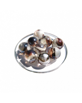 1 Shooter Marble Polaire 25 mm Glass Marbles