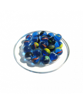 1 Marble Néon 16 mm Glass Marbles