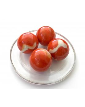 1 Large Marble Junon35 mm Glass Marbles