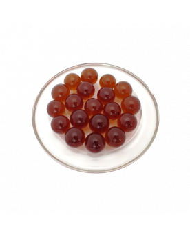 1 Marble Ambre-Loupe 16 mm Glass Marbles