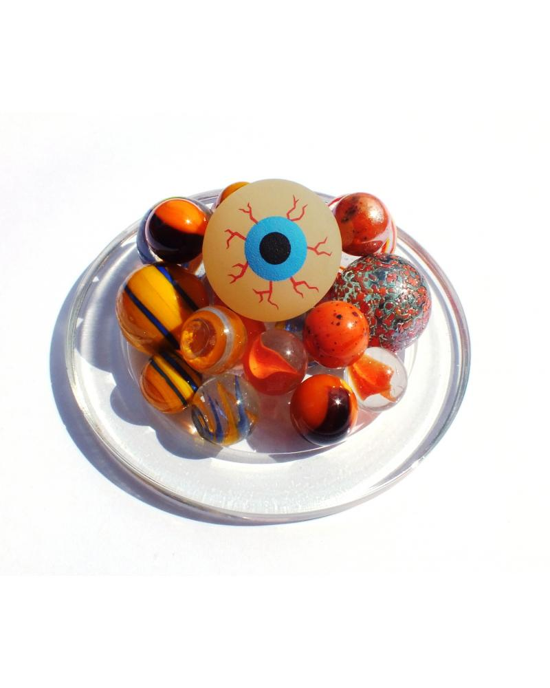 1 Pack Halloween Glass Marbles