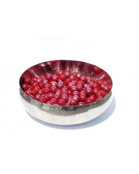 160 Marbles Presentation Box Rouge GlassMarbles