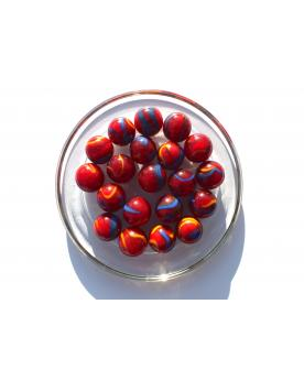 1 Marble Fiesta 16 mm Glass Marbles