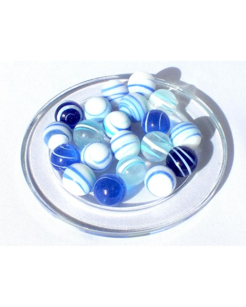 1 Marble Pacifique 16 mm Glass Marbles