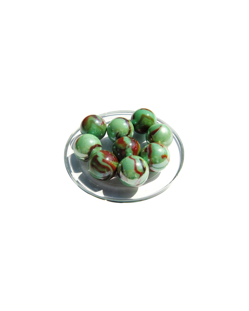 1 Shooter Marble Emauraude 25 mm Glass Marbles