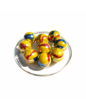 1 Shooter Marble Canari 25 mm Glass Marbles