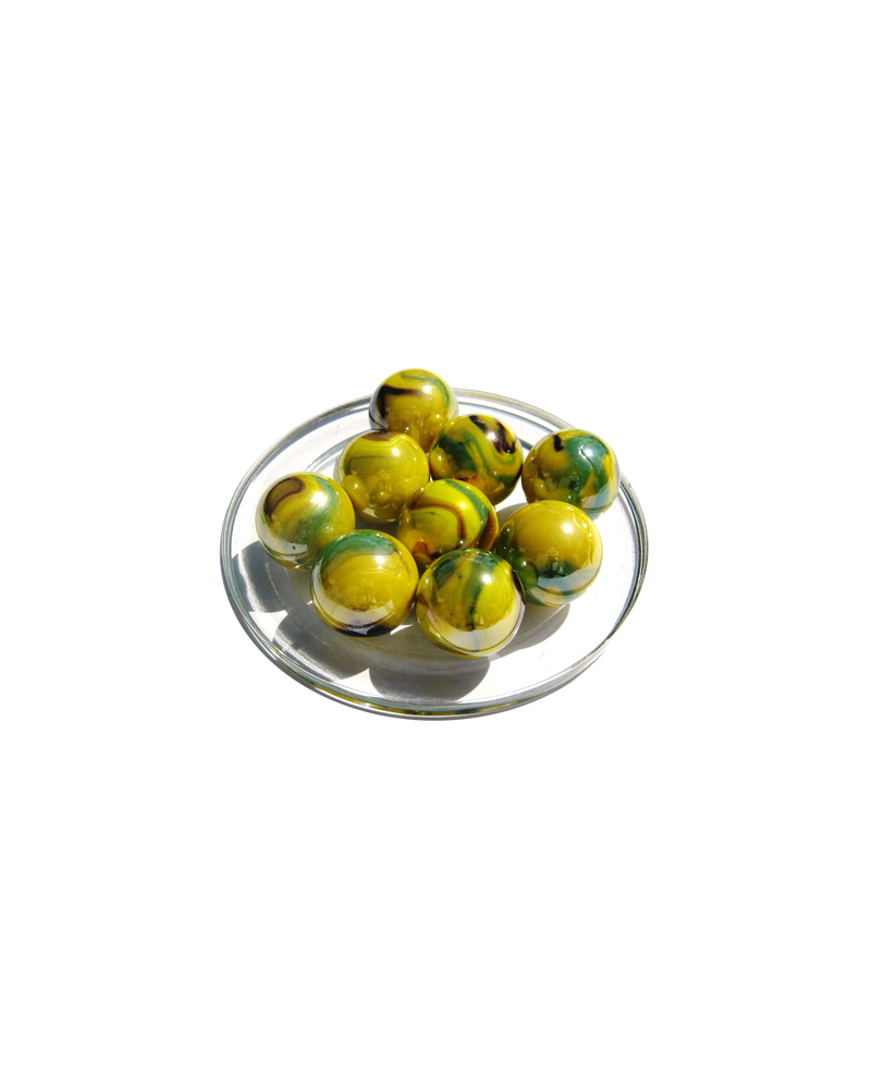 1 Shooter Marble Tigre-Bengal 25 mm Glass Marbles