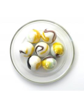 1 Shooter Marble Tigre-Jaune 25 mm Glass Marbles