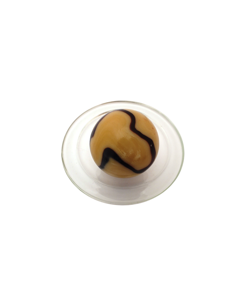 1 King Marble Caramel 43 mm Glass Marbles