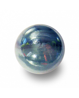 1 Shooter Marble Gris-Bleu 25 mm Glass Marbles