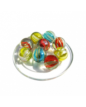 1 Shooter Marble Tornade 25 mm Glass Marbles
