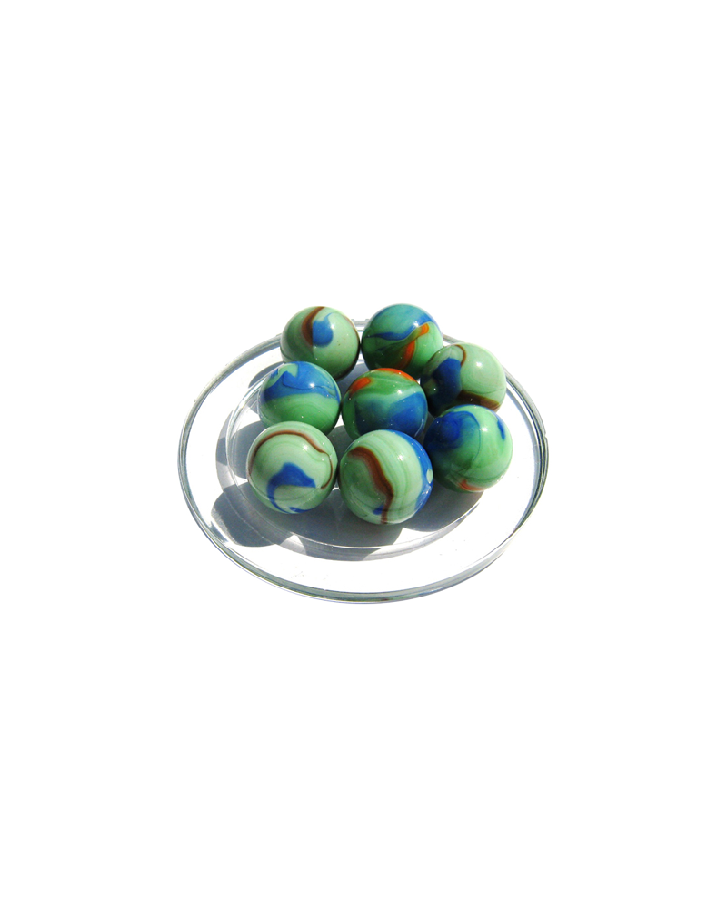 1 Shooter Marble Monet 25 mm Glass Marbles