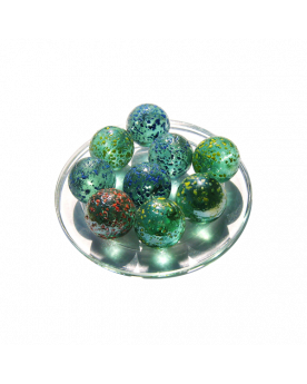 1 Shooter Marble Pépite 25 mm Glass Marbles