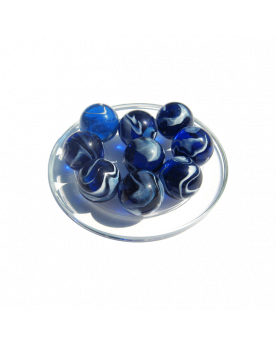 1 Shooter Marble Spot 25 mm Glass Marbles