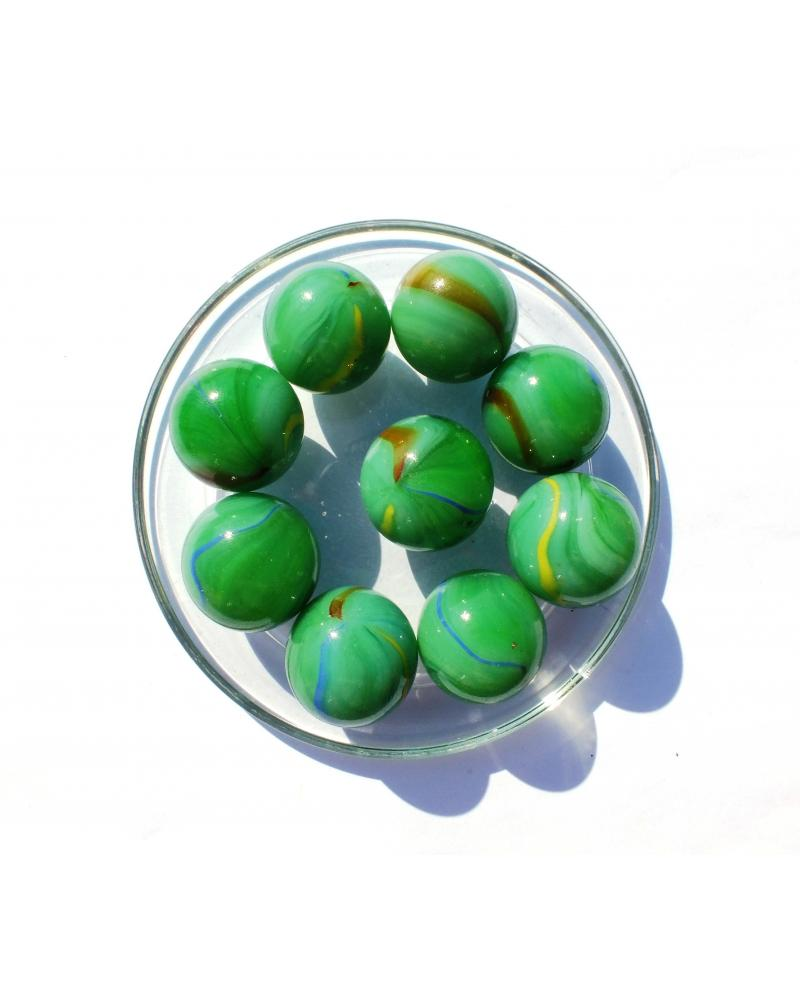 1 Shooter Marble Jade 25 mm Glass Marbles