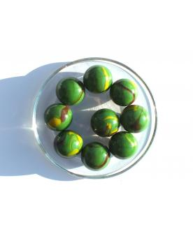 1 Shooter Marble Jungle 25 mm Glass Marbles