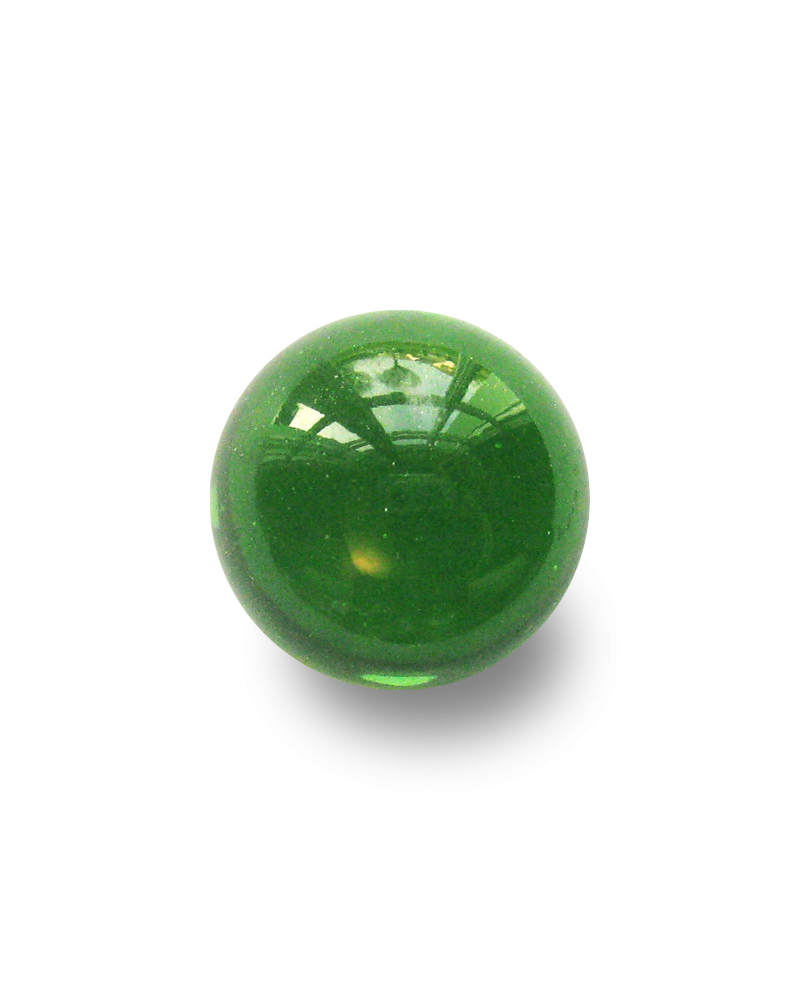 1 Shooter Marble Vert-Loupe 25 mm Glass Marbles