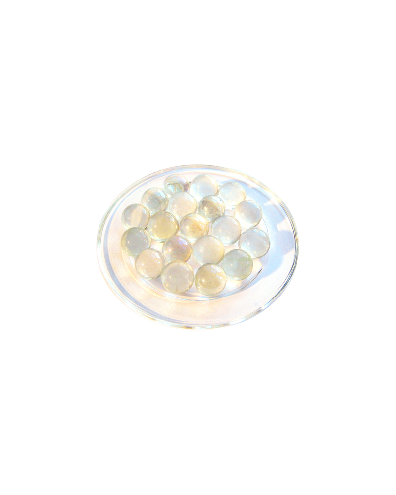 1 Marble Cristal-Loupe 16 mm Glass Marbles