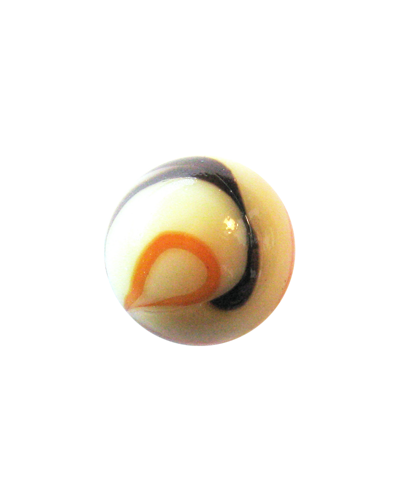 1 Large Marble Girafe-Espagnole 35 mm Glass Marbles