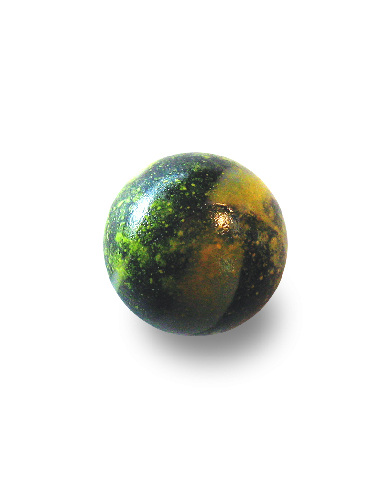 1 Shooter Marble Pluton 25 mm Glass Marbles