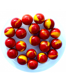 1 Marble Volcan 16 mm Glass Marbles
