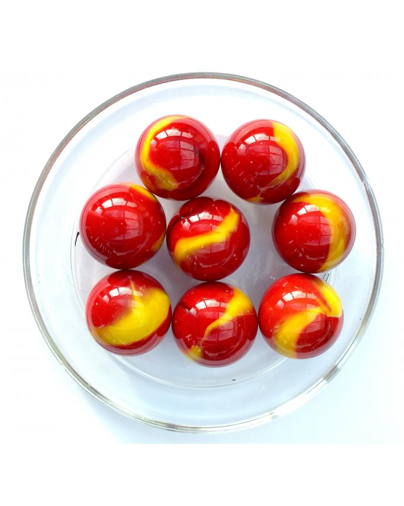 1 Shooter Marble Volcan 25 mm Glass Marbles