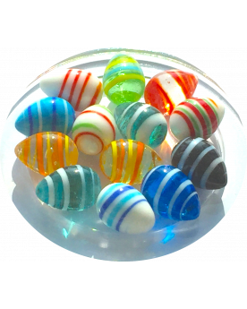 1 Shooter Marble Oeuf 25 mm Glass Marbles