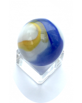 1 Shooter Marble Banquise 25 mm Glass Marbles