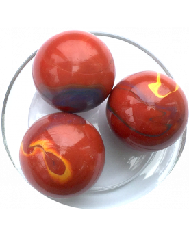 1 Giant Marble Lautrec 50 mm Glass Marbles - MyMarbles