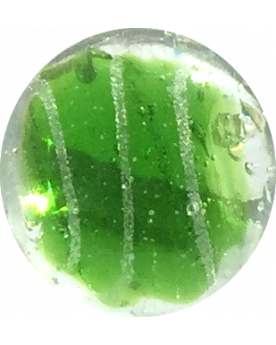 1 big Marble Céleste-Vert 25 mm Glass Marbles