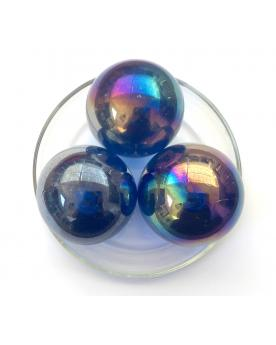 1 Giant Marble Intense Blue 50 mm Glass Marbles - MyMarbles