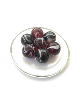 1 Shooter Marble Pourpre 25 mm Glass Marbles