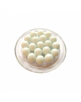 1 Marble Blanc-Perle 16 mm Glass Marbles