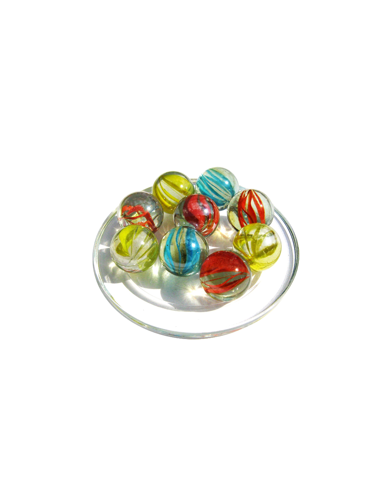 1 big Marble Tornade  20 mm Glass Marbles