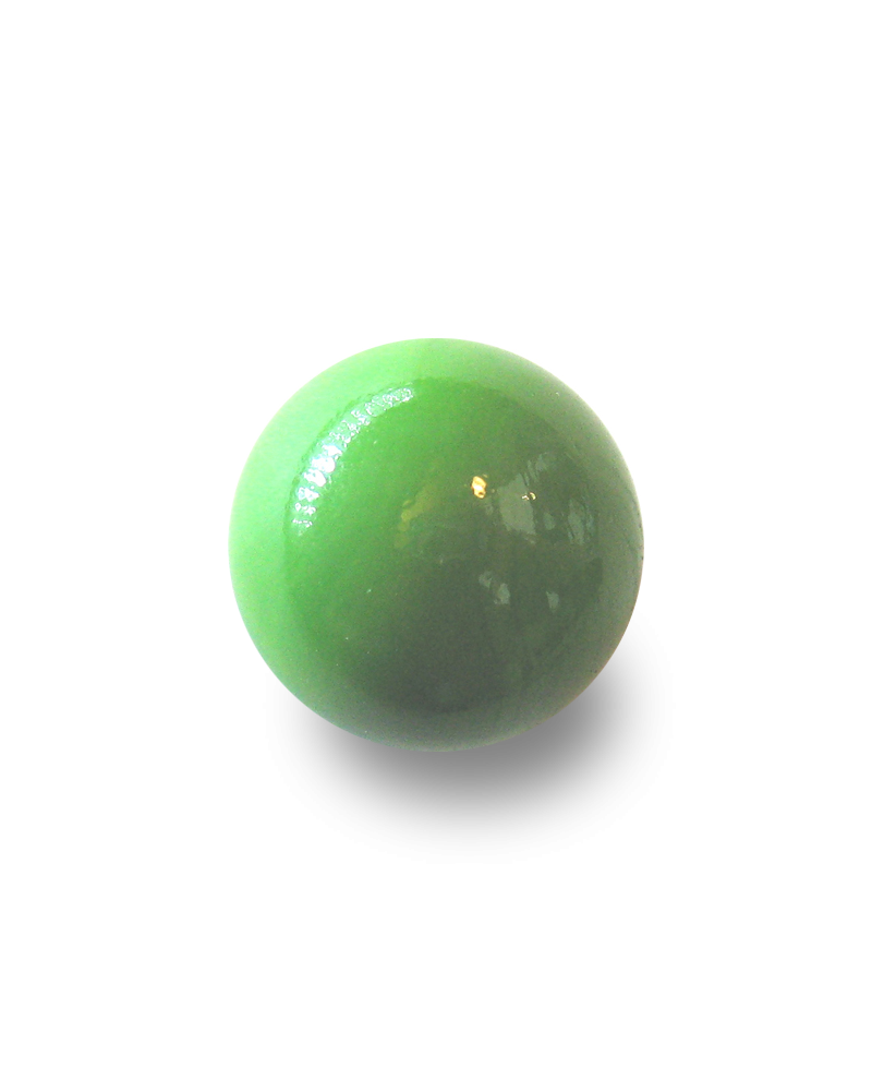1 Giant Marble Green Pearl  50 mm Glass Marbles - MyMarbles