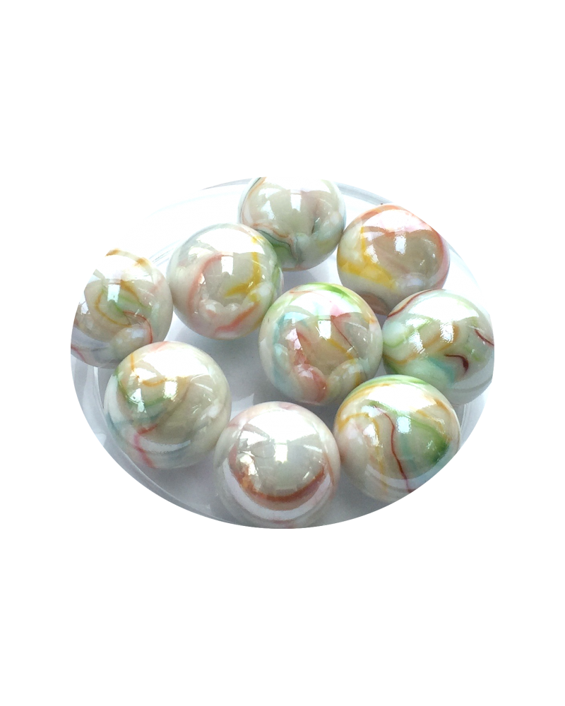 1 Large Marble Précieuse 35 mm Glass Marbles