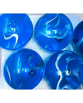 1 Giant Marble H2O 50 mm Glass Marbles - MyMarbles