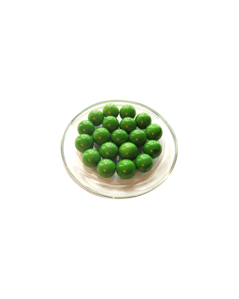 1 Marble Vert-Perle  16 mm Glass Marbles