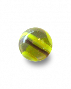 1 Shooter Marble Bourdon 25 mm Glass Marbles